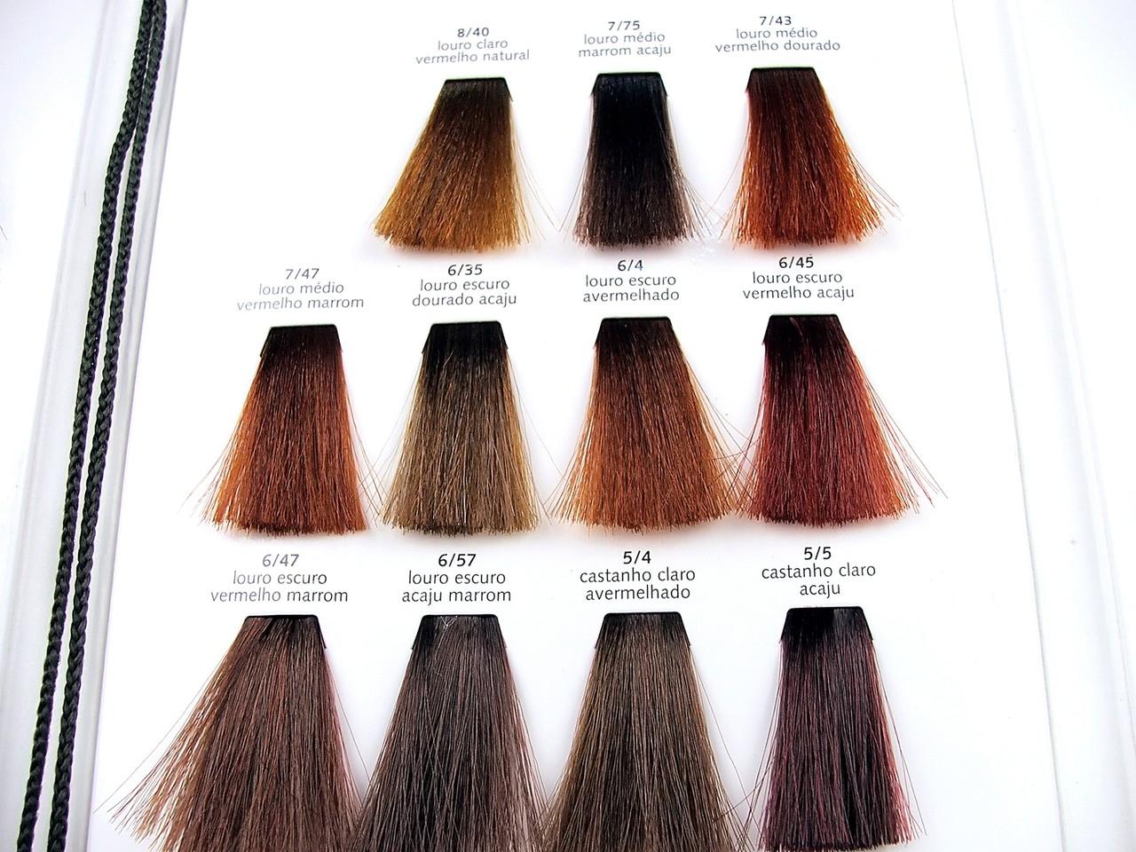 Dobieramy kolor włosów